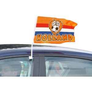 Oranje autovlag Holland Leeuw 30x45 cm