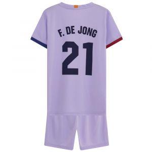 FC Barcelona Tenue Uit Frenkie de Jong - 2021-2022 - Kids