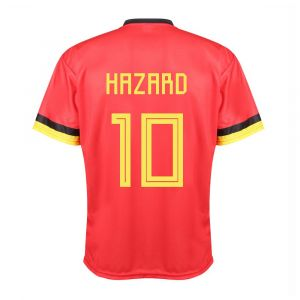Belgie Voetbalshirt Hazard Thuis 2020-2021 Kids - Senior