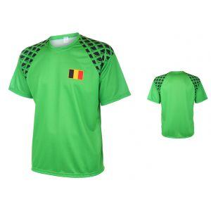 België Keepersshirt Thuis Eigen Naam Bedrukken 2016-2017