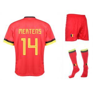 Belgie Voetbaltenue Mertens Thuis 2020-2021 Kids-Senior
