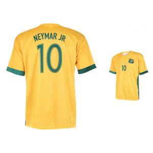 Brazilie Voetbalshirt Neymar Thuis