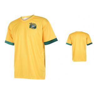 Brazilie Voetbalshirt Thuis Eigen Naam