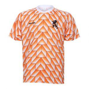 EK 88 Voetbalshirt 1988 Eigen Naam - Oranje - Kids-Senior