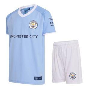 Manchester City Voetbaltenue Thuis Eigen Naam 2020-2021 Kids