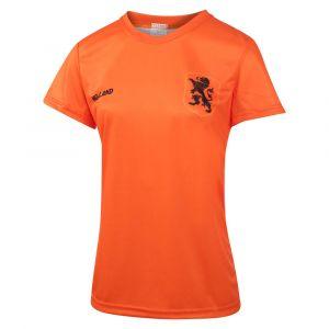 Nederlands Elftal Dames Voetbalshirt Thuis Eigen Naam 2019-2021 Meisjes-Vrouwen - Leeuwinnen