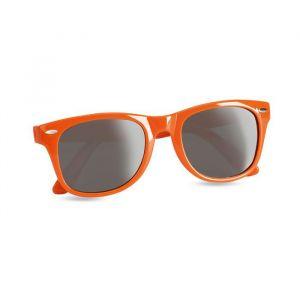 Oranje Zonnebril met UV bescherming