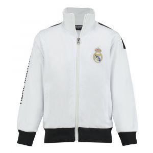 Real Madrid Trainingsjack Eigen Naam Kids