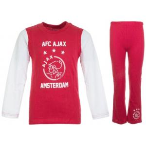 Ajax Pyjama Logo Rood/Wit Kids