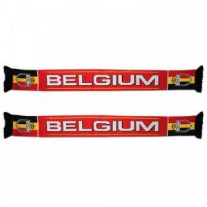 Sjaal Belgium Rood