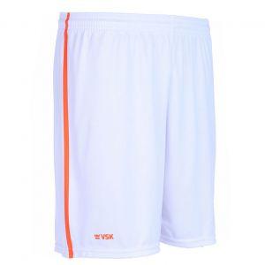 VSK Fly Voetbalbroekje Wit-Oranje