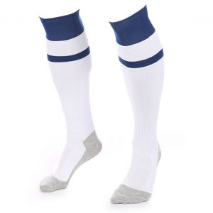 VSK Fly Voetbalsokken Wit-Blauw